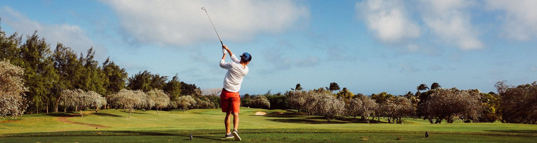 clouds shade golf golfer